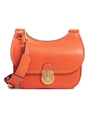 Tory Burch small james leather saddle bag