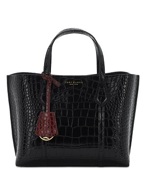 Tory Burch Small perry embossed leather tote bag