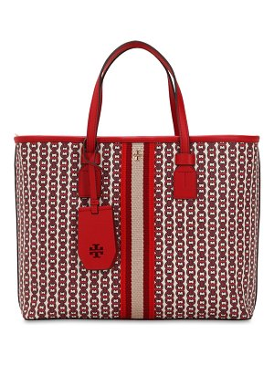 Tory Burch Small printed canvas tote bag