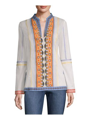 Tory Burch stephanie cotton tunic
