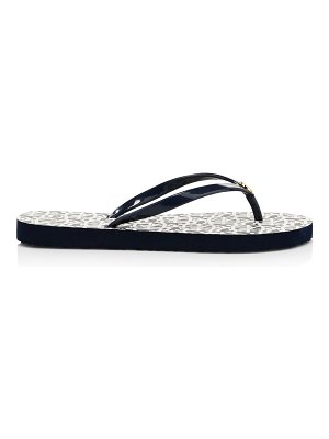 Tory Burch thin patent thong flip flop sandals