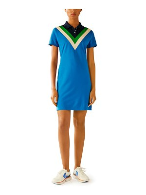 Tory Sport Chevron Polo Dress