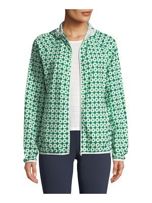 Tory Sport Printed Packable Performance Jacket