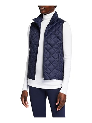 Tory Sport Quilted Packable Insulated Down Vest
