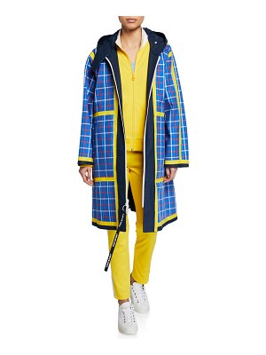 Tory Sport Reversible Cotton Trench Coat