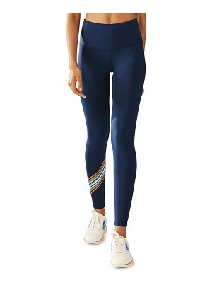 Tory Sport Spectrum High-Rise Chevron Leggings