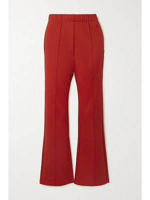 Tory Sport stretch-jersey flared pants - large