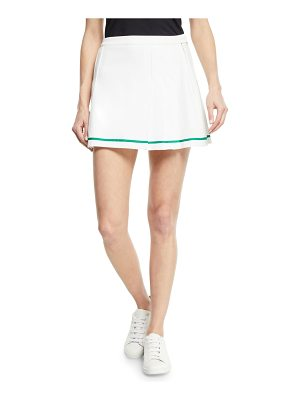 Tory Sport Tech Twill Pleated Tennis Skirt