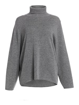 Toteme cambridge wool cashmere turtleneck sweater