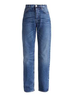 Toteme ease high-rise straight jeans
