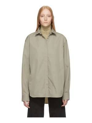 Toteme grey lago shirt