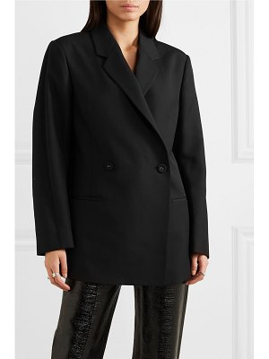 Totême loreo oversized double-breasted cady blazer