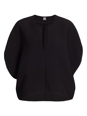 Toteme penicton puff-sleeve blouse