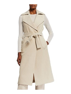 TRAVE Chelsea Sleeveless Trench with Belt