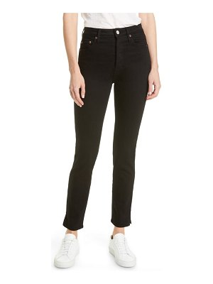 TRAVE lawson high waist ankle skinny jeans
