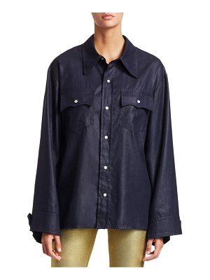 TRE by Natalie Ratabesi The Manson Linen Button-Down Top