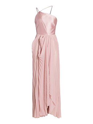 TRE by Natalie Ratabesi the seletine one-shoulder gown