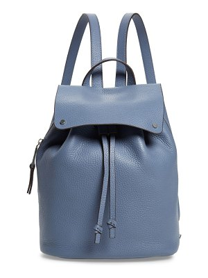 Treasure & Bond luca grainy leather backpack