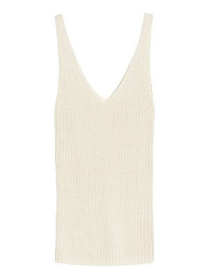 Treasure & Bond v-neck ribbed sweater tank