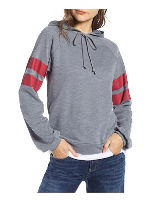 Treasure & Bond varsity stripe hoodie