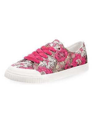 Tretorn Marley Floral Lace-Up Sneakers