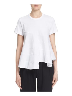 Tricot Comme des Garcons flared crewneck tee
