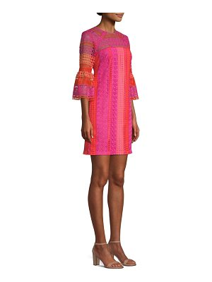 Trina Turk cambria bell sleeve dress