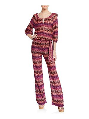 Trina Turk Exploration Ikat Jumpsuit