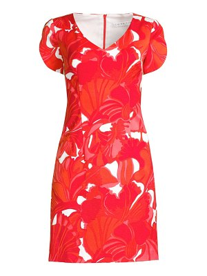 Trina Turk shangri-la flight printed sheath dress