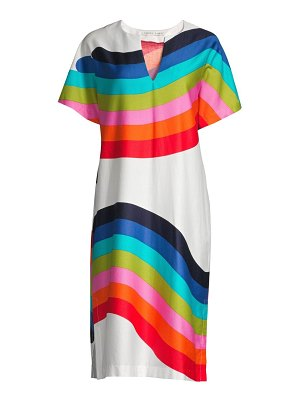 Trina Turk shangri la honolulu cotton midi dress