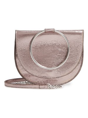 Trouve reese crackle ring crossbody bag