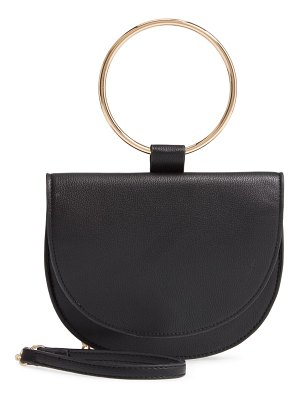 Trouve reese faux leather ring crossbody bag