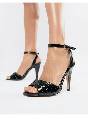 Truffle Collection croc heeled sandals