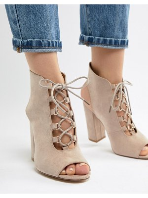 Truffle Collection lace up heeled sandals