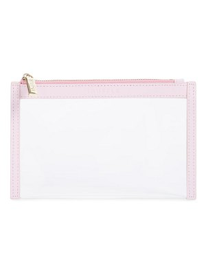 TRUFFLE mini clarity clutch