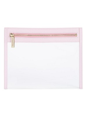 TRUFFLE small clarity clutch