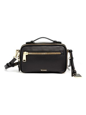 Tumi marcie leather crossbody bag