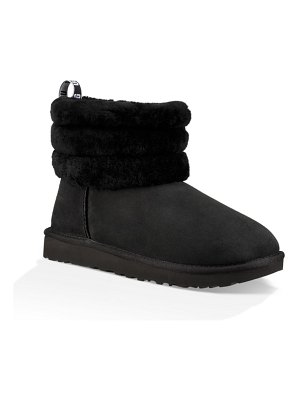 UGG ugg classic mini fluff quilted boot