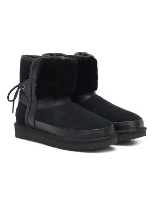 UGG classic shearling ankle boots