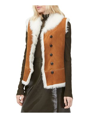 UGG Renee Reversible Vest in Shearling