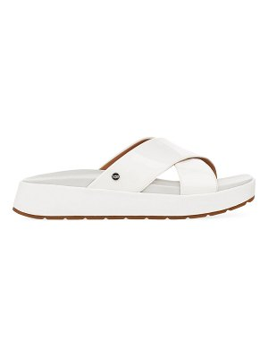 UGG saguaro emily faux leather sandals