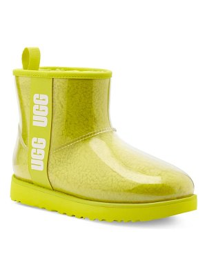 UGG ugg classic mini waterproof clear boot
