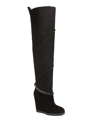 UGG ugg perfect pairs classic mondri genuine shearling lined over the knee boot