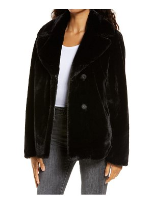 UGG ugg rosemary faux fur jacket