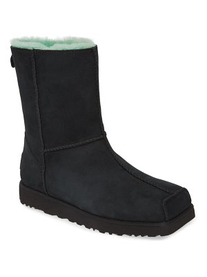 UGG ugg x eckhaus latta classic colorblock genuine shearling boot