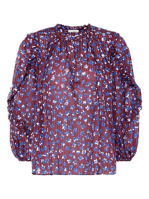 Ulla Johnson lillian cotton and silk-blend blouse