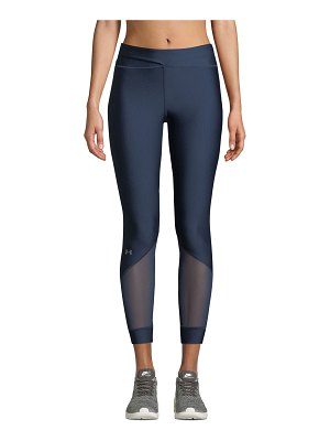 Under Armour Anklette Mesh Cropped Leggings
