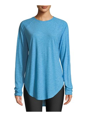 Under Armour Breathe Long-Sleeve Tee w/ Strappy Back