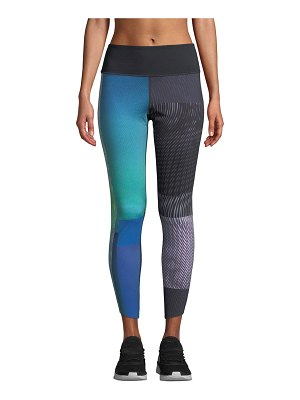 Under Armour Breathelux Printed Cropped Performance Leggings