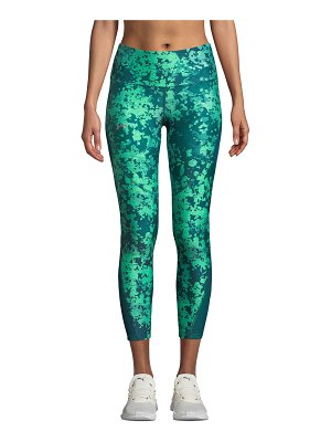 Under Armour HeatGear Printed Ankle Crop Performance Leggings